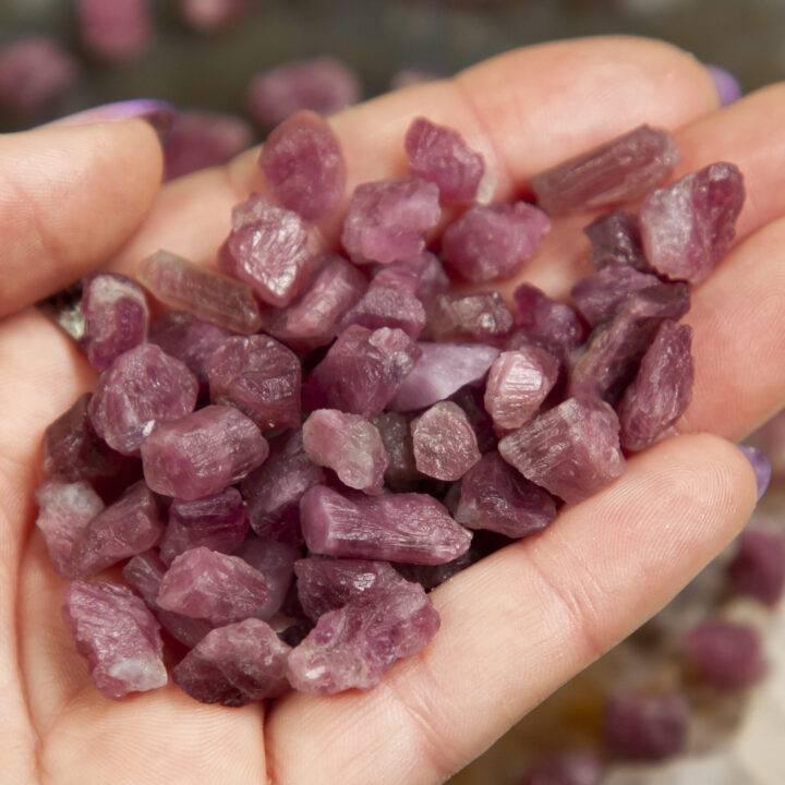 Natural Rubellite