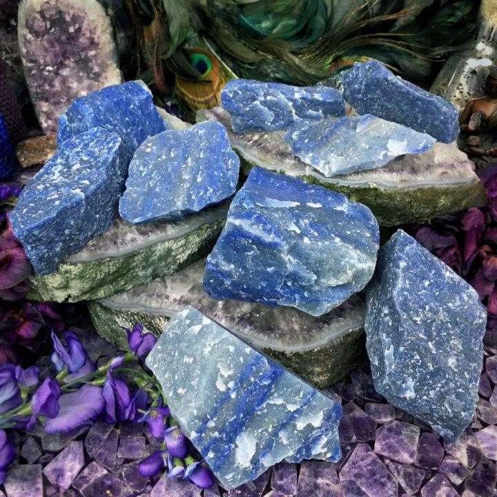 Natural Dumortierite