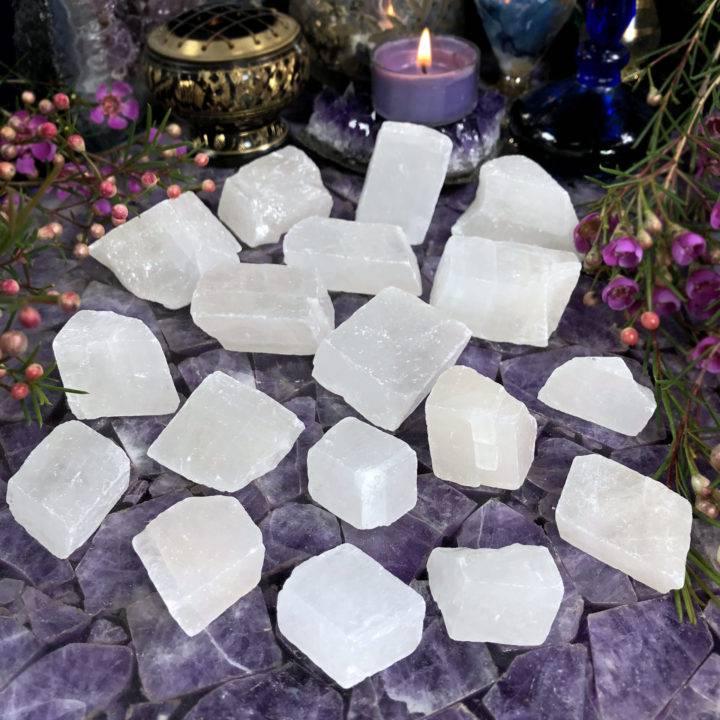 Natural White Calcite