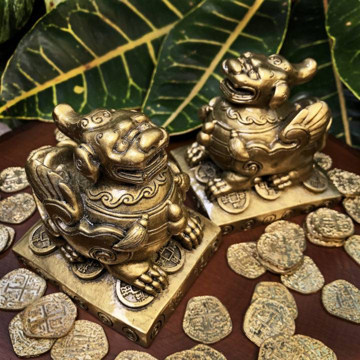 Pixiu Protection and Prosperity Statue