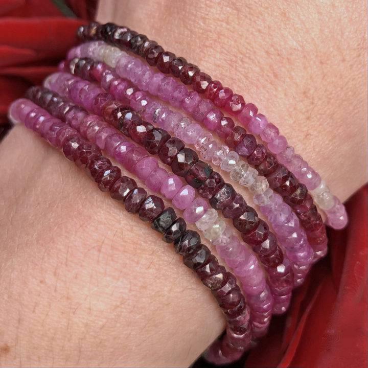 Ruby Ombre Passion Bracelet