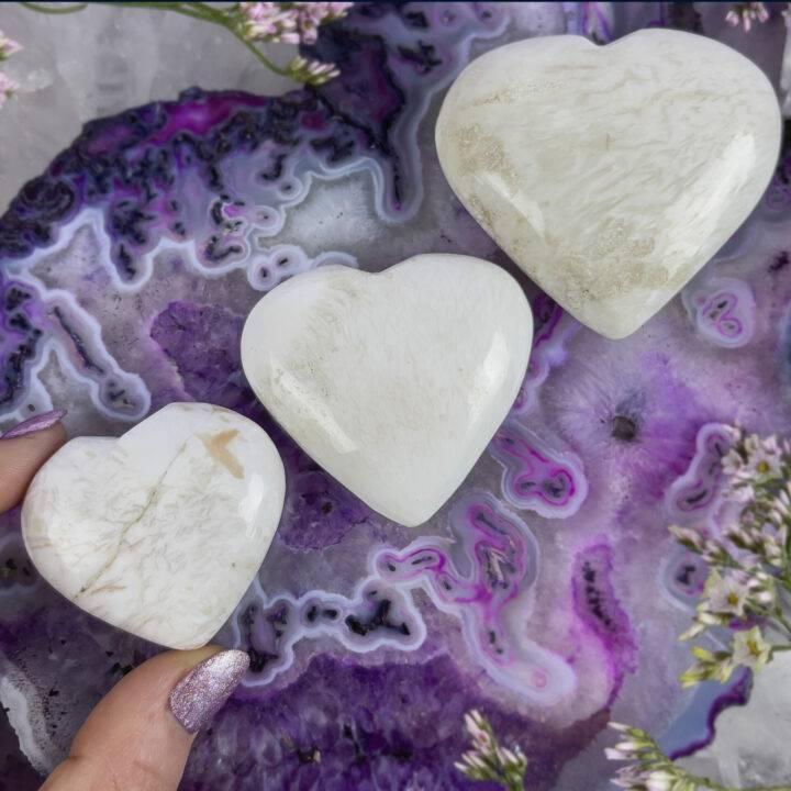 Scolecite Heart of Ascension