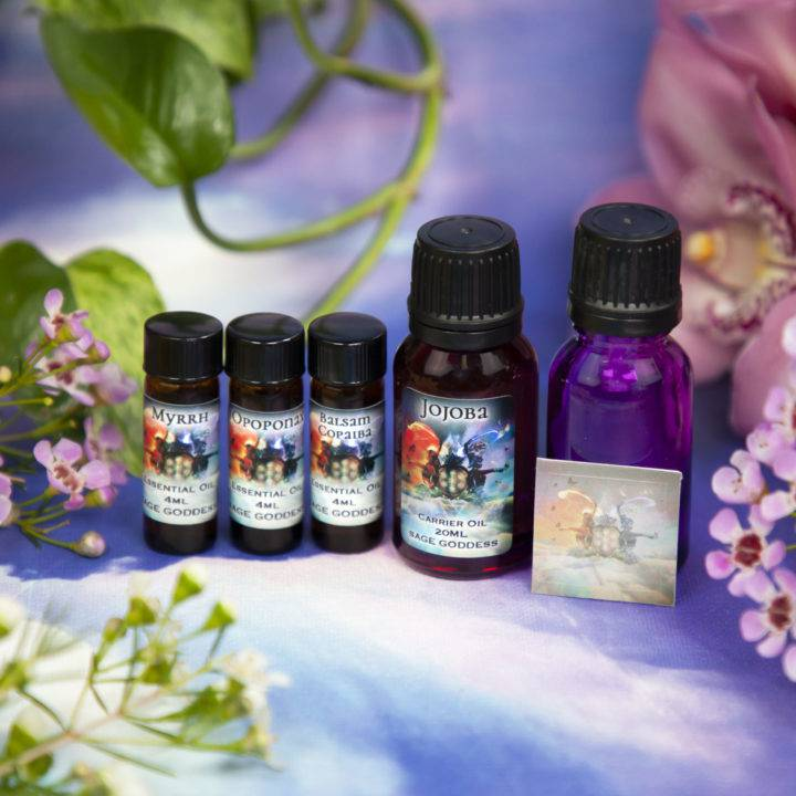 Soul Shift March Class Tools Journey to Higher Self Perfume Blending Set