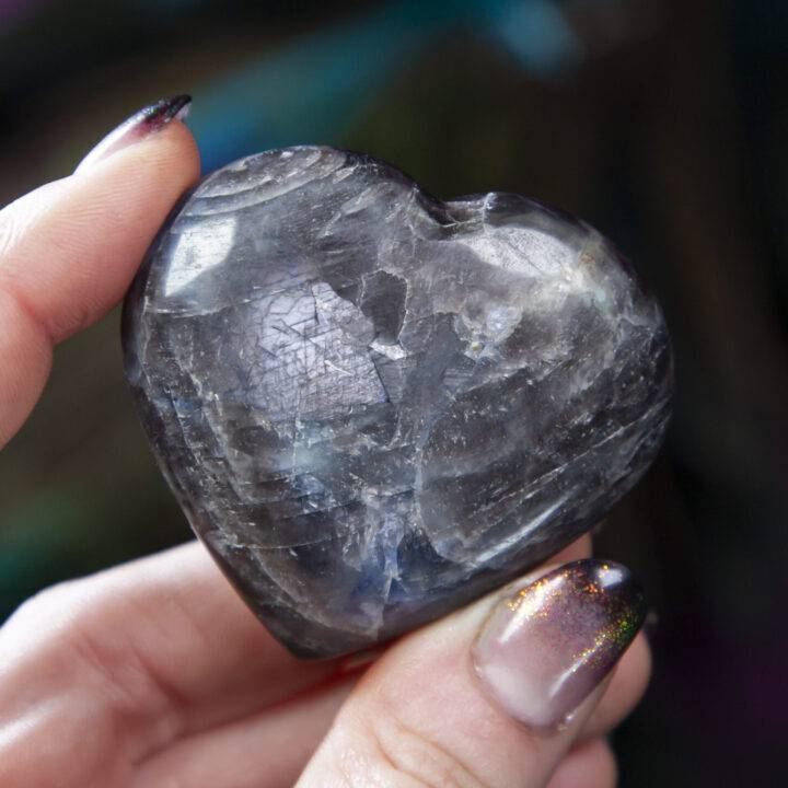 Star Sapphire Sage's Intuition Heart