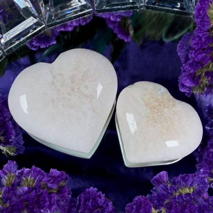Scolecite Lineage Healing Heart