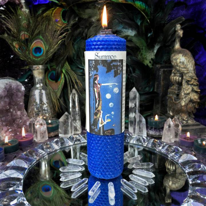 Summon Beeswax Intention Candle