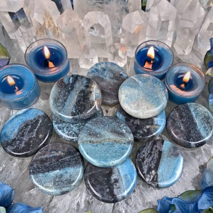 Trolleite Spiritual Awakening Palm Stone