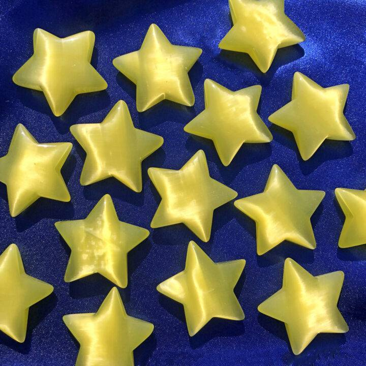Yellow Cats Eye Star BeeBop