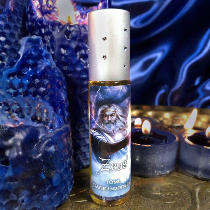 Zeus Wand with Zeus Perfume
