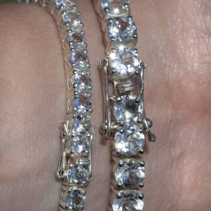 Athenas Topaz Tennis Bracelet
