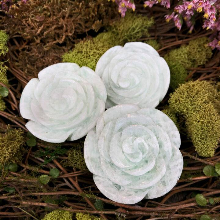 Amazonite Rose