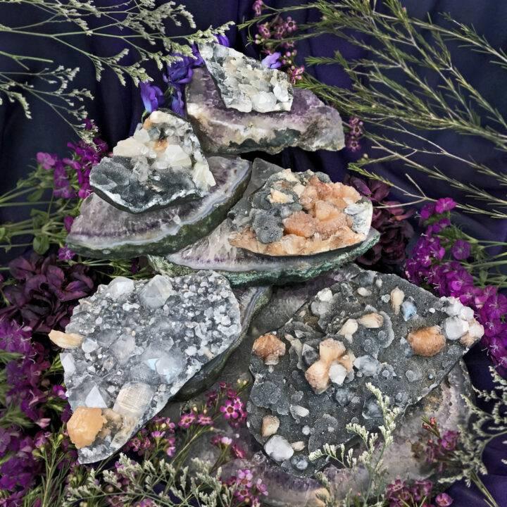 Atlantean Dream Chalcedony Cluster