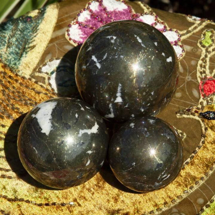 Chalcopyrite with Dolomite Rebirth Sphere