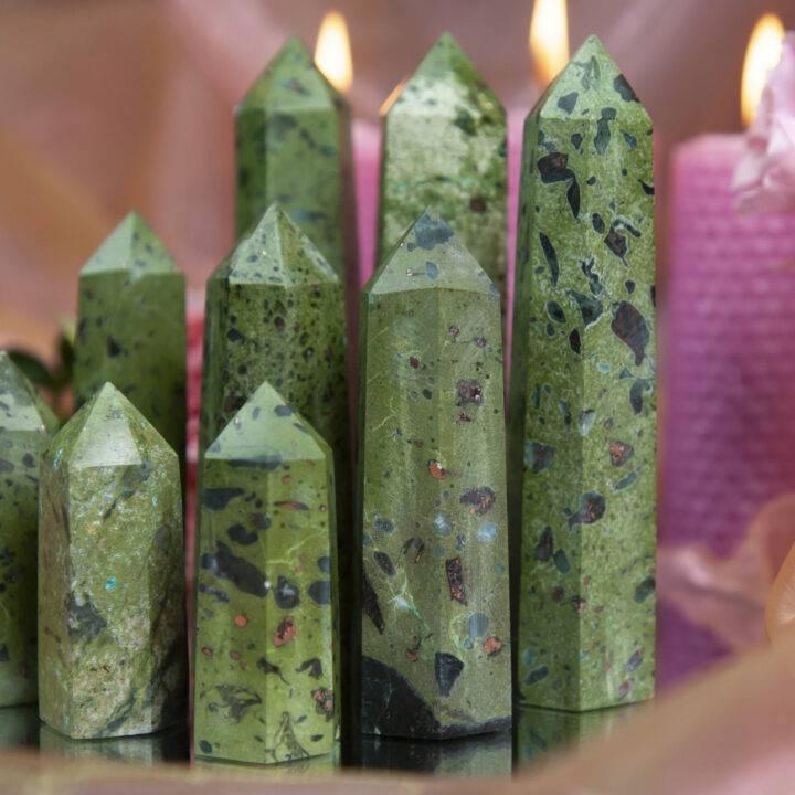 Compassionate Healing Phoenix Stone Generator