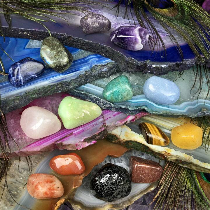 Chakra Healing Gemstone Duos