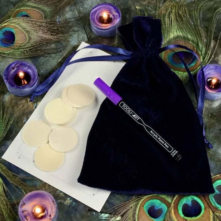 Divination Symbols Casting Crafting Set