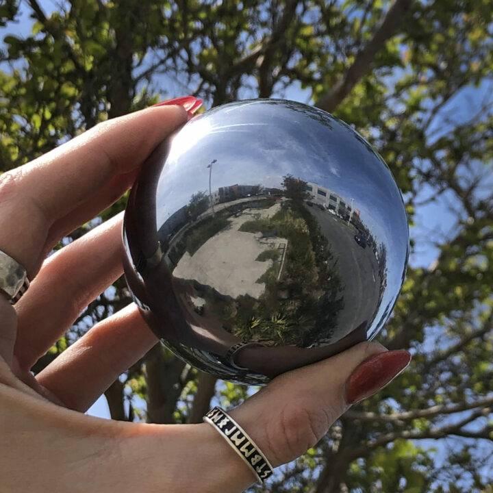 Electromagnetic Protection Terahertz Sphere