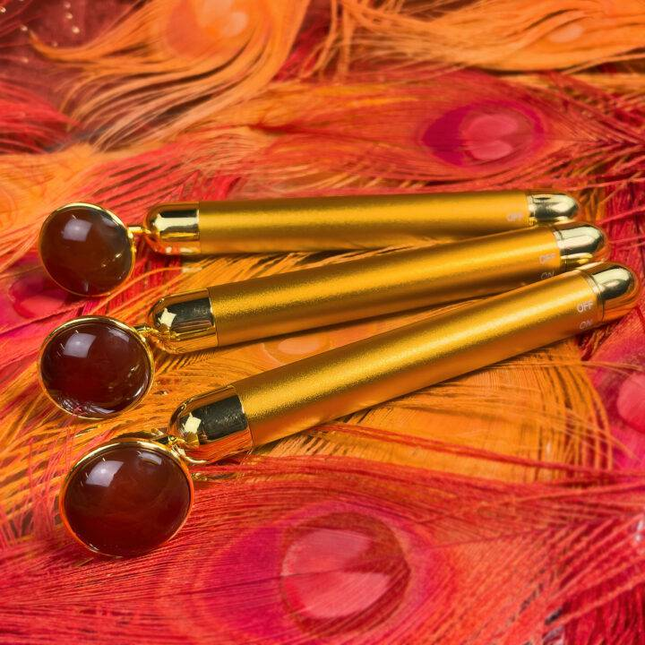 Get Your Buzz On Carnelian Wand