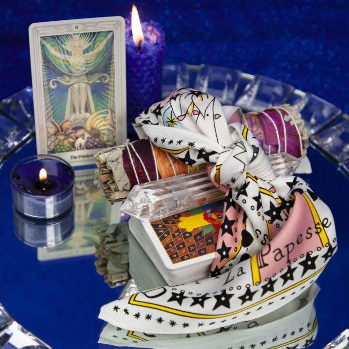 High Priestess Tarot Scarf