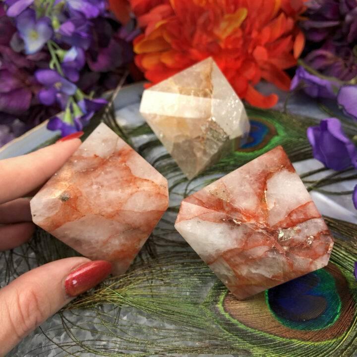 Hemium Quartz Attunement Diamond