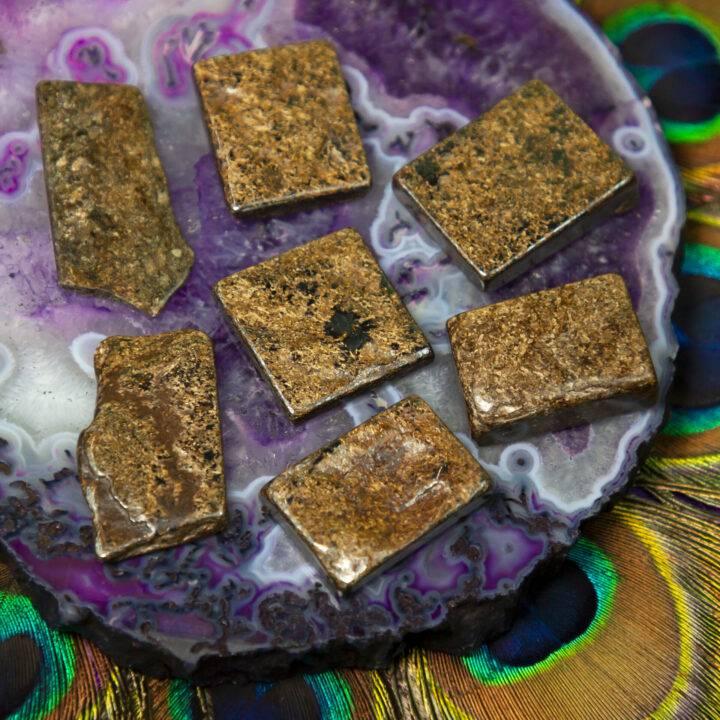 Let it Go Bronzite Bra Stone