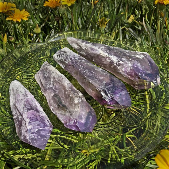 Natural Amethyst Root Crystal