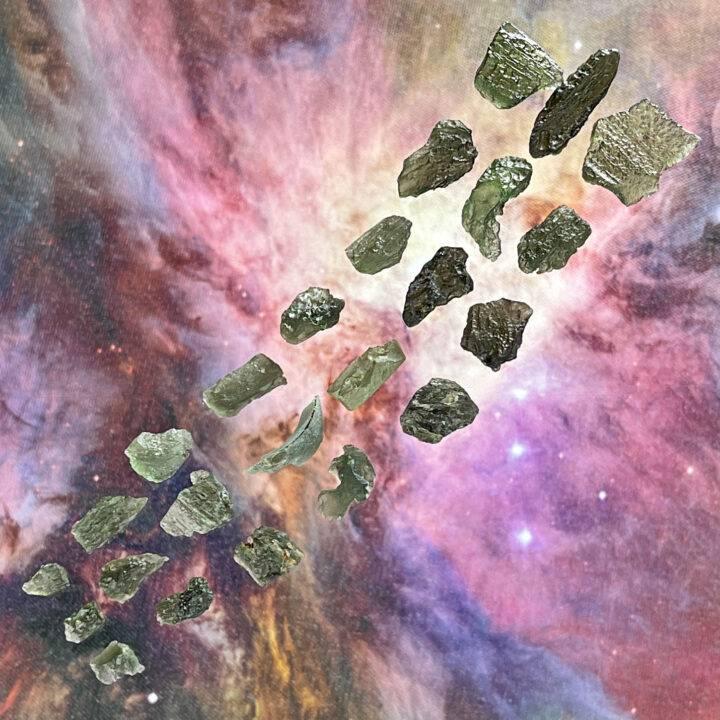 Natural Moldavite
