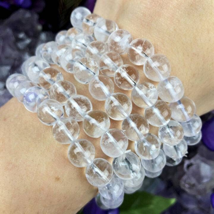Raise Your Vibe Clear Quartz Bracelet