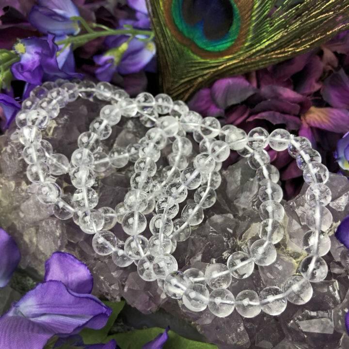 Raise Your Vibe Clear Quartz Bracelet