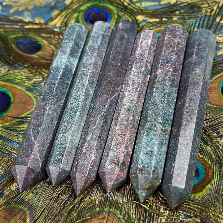 Ruby Kyanite Love and Alignment Wand