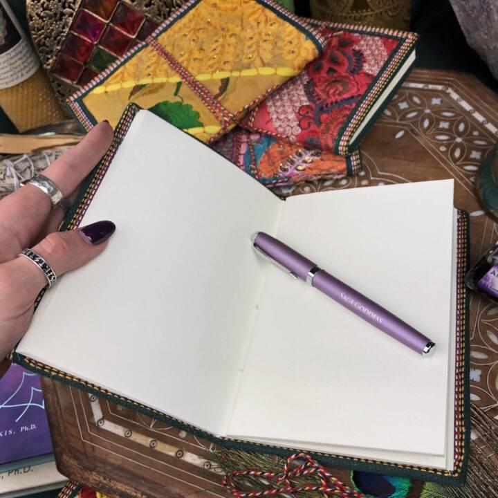 Sari Silk Handmade Journal
