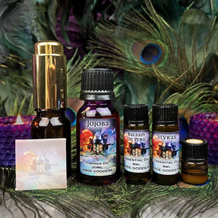 Soul Shift April Class Tools: Journey to Awakening Perfume Blending Set