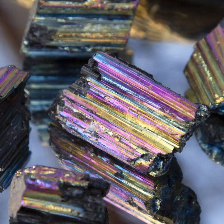 Titanium Aura Black Tourmaline