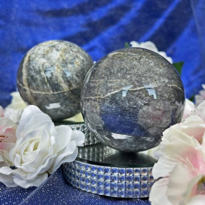 Divine Guidance Iolite Sphere