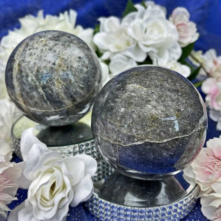 Divine Guidance Iolite Sphere