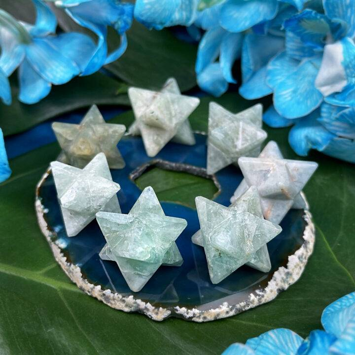 Emotional Healing Aquamarine Merkaba