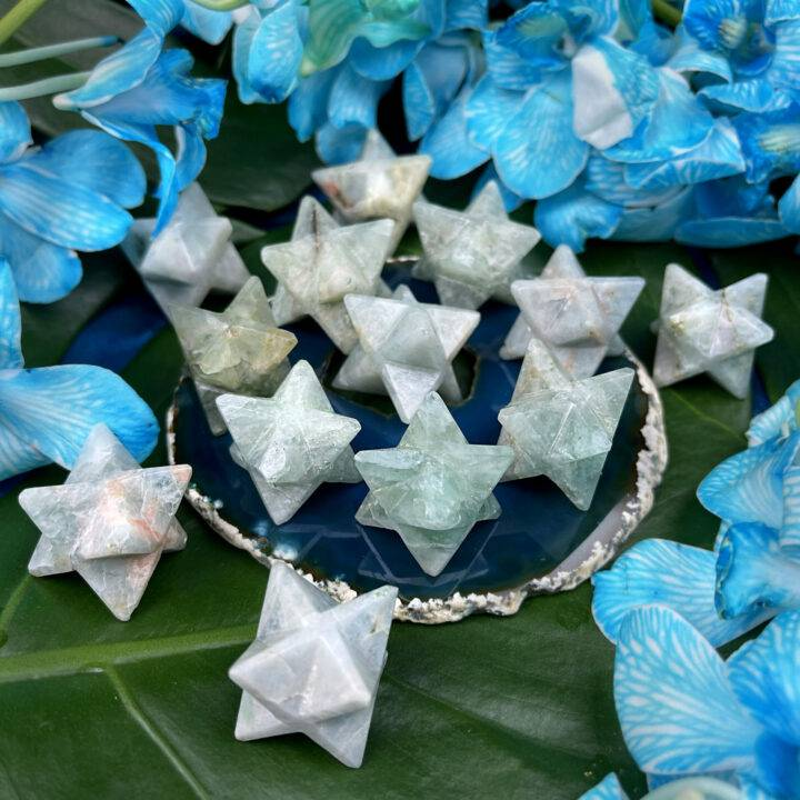 Emotional Healing Aquamarine Merkaba