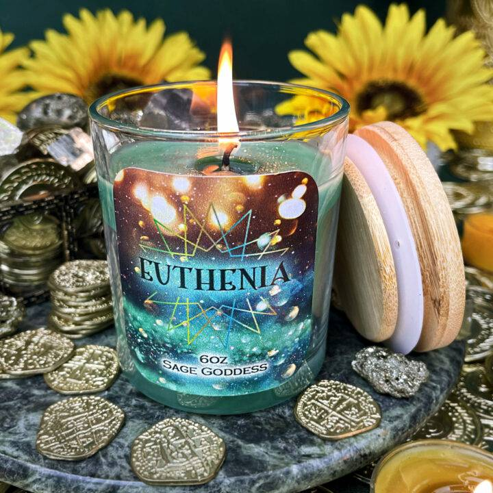 Euthenia Intention Candle
