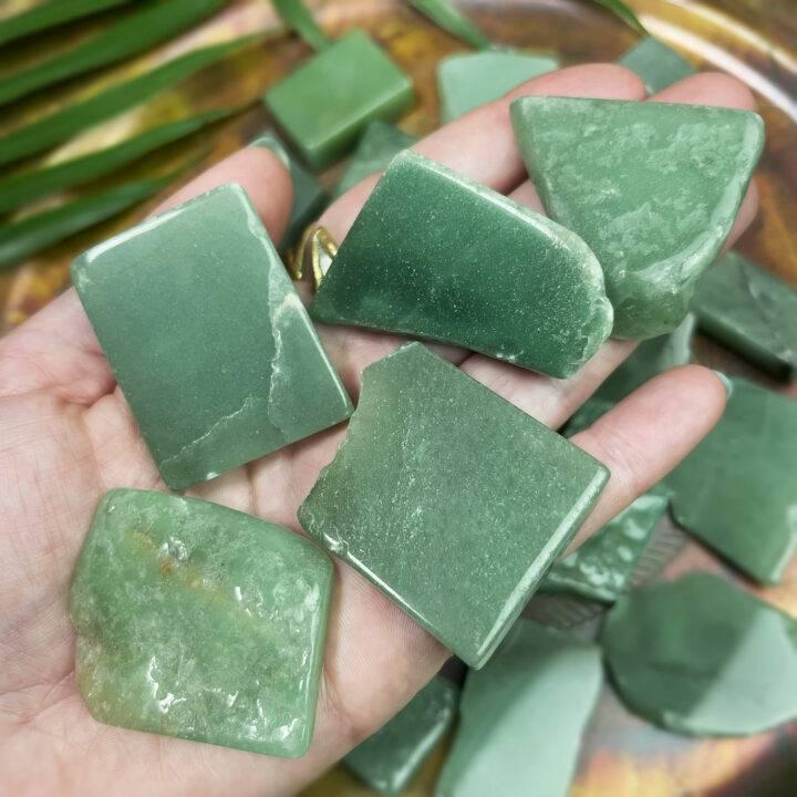 Green Aventurine Good Luck Bra Stone