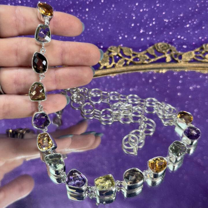 Gemstone Magic Necklace