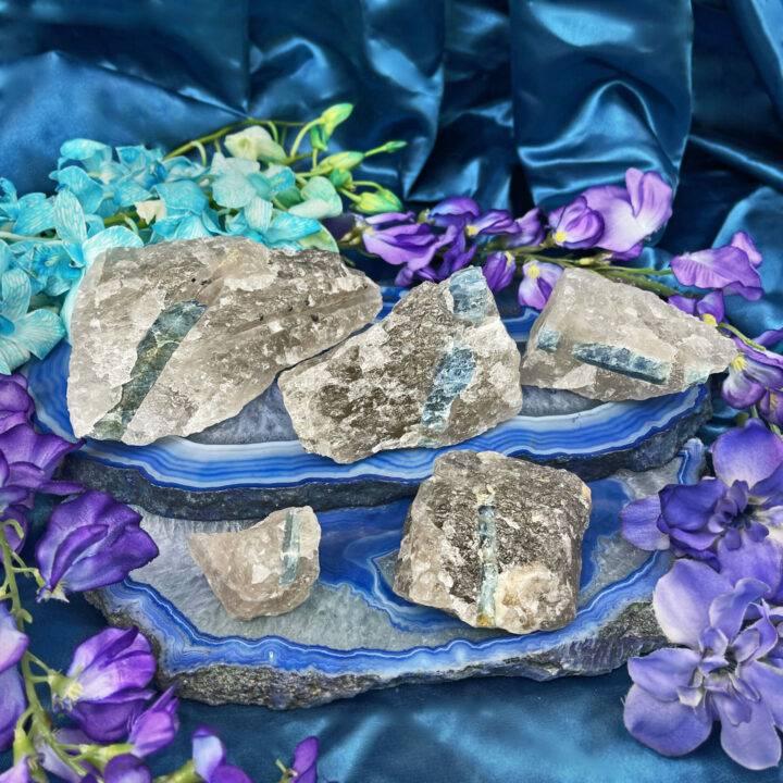 Healing Empath Aquamarine in Quartz