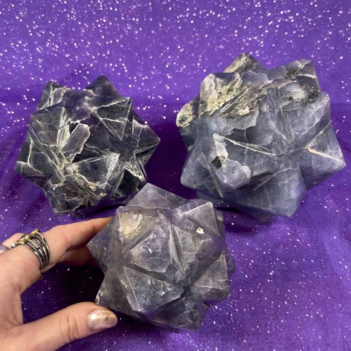 Iolite 3D Metatron's Cube