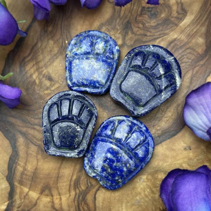 Lapis Lazuli Cat Paw