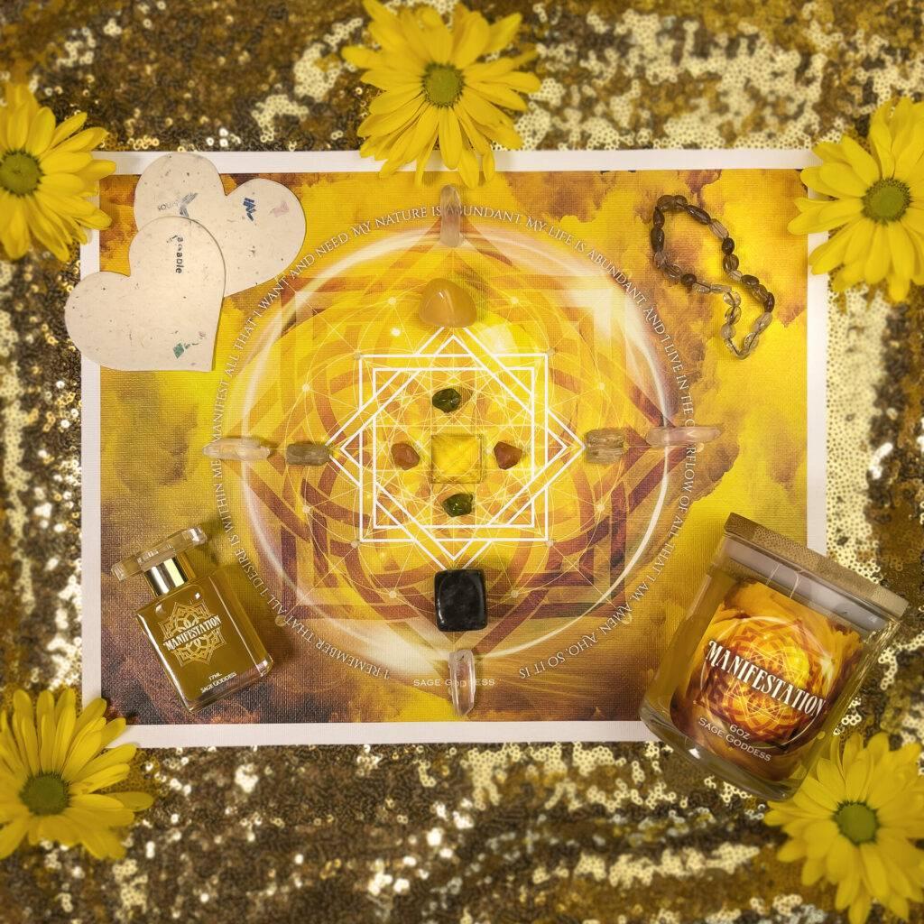 Manifsestation Master Class and Ritual Tool Set
