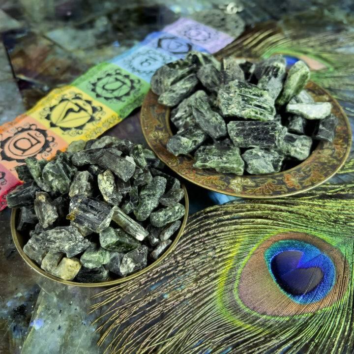 Natural Green Diopside Crystal