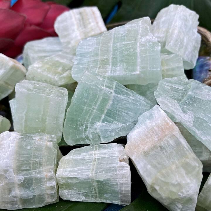 Natural Aqua Calcite