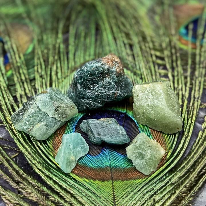 Natural Grandidierite: The Faith Stone