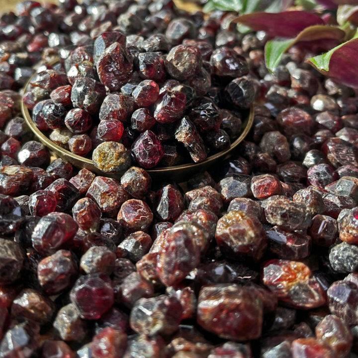Natural Rhodolite Garnet
