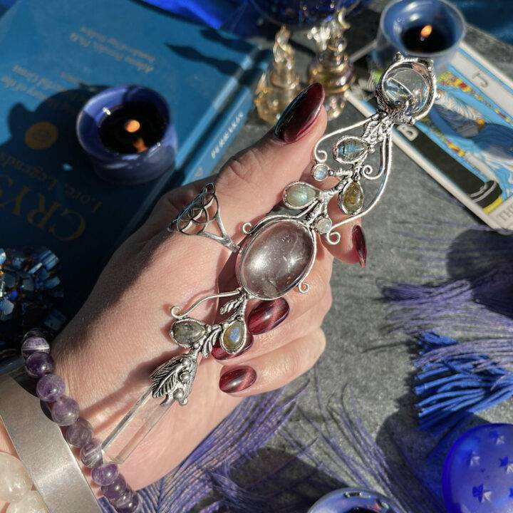 New Moon Priestess of Possibility Wand