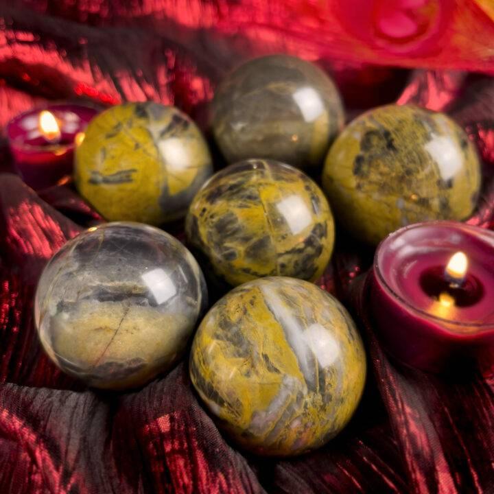 Phoenix Rising Jasper Sphere